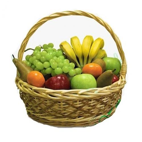 Купить на заказ Заказать Корзина с фруктами 4 с доставкой по Усть-Каменогорску с доставкой в Усть-Каменогорске
