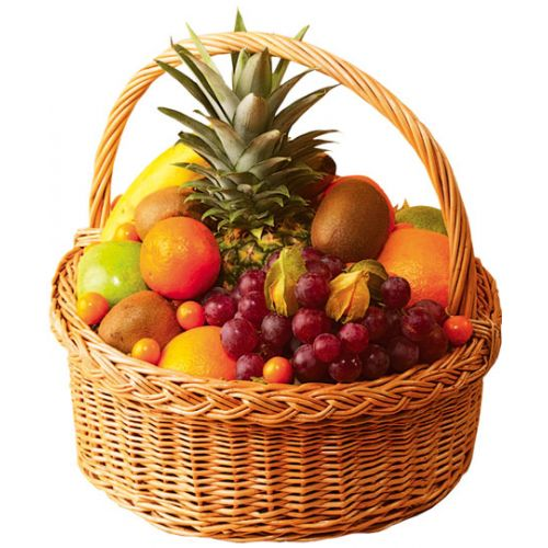 Купить на заказ Заказать Корзина с фруктами 2 с доставкой по Усть-Каменогорску с доставкой в Усть-Каменогорске