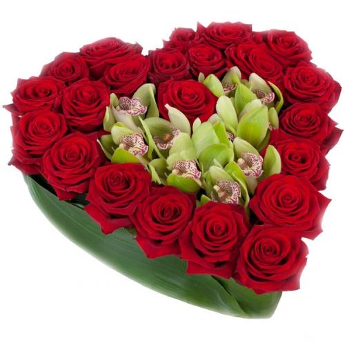 Купить на заказ Заказать Сердце 10 с доставкой по Усть-Каменогорску с доставкой в Усть-Каменогорске