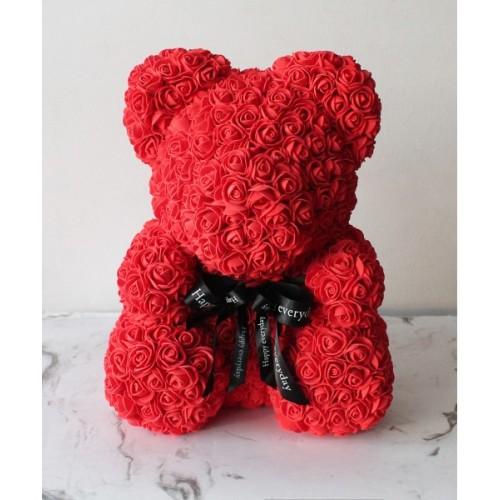 Купить на заказ Мишка из роз с доставкой в Усть-Каменогорске